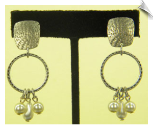 Clip On Earrings- Fashion - Classic