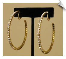 Clip On Earrings - Hoops