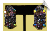 Clip On Earrings - Cubic Zirconia