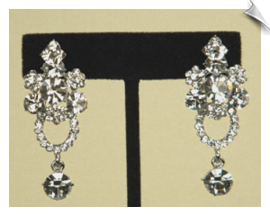 Clip On Earrings - Austrian Crystal