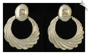 Clip Earrings - Modern