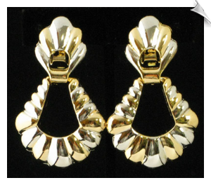 Clip On Earrings - Modern