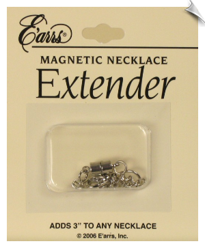Necklace Extender- Silvertone