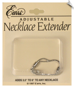 Necklace Extender - Silvertone