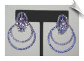 Clip On Earrings - Crystal