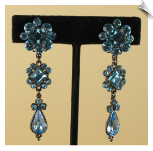 Chandelier Clip Earrings