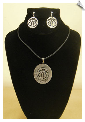 Necklace Sets-Silver