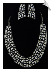 Necklace Set - Silver