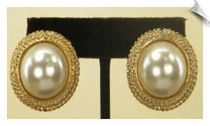 Clip On Earrings- Fashion-Classic
