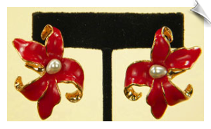 Clip On Earrings-Fashion-Classic