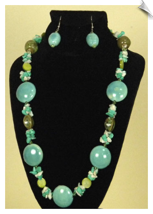 Necklace Set- Blue