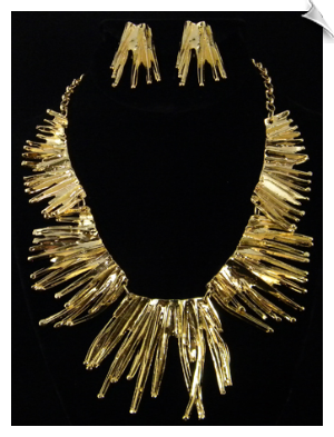 Necklace Set - Gold