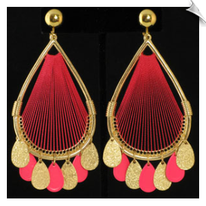Clip on Earrings- B&B Fashion Gold