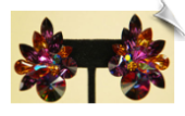 Clip On Earrings- Cubic Zirconia