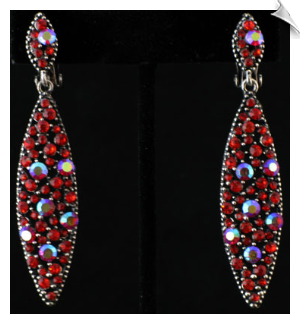 Clip on Earrings- Fashion Silver