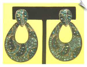 Clip On Earrings- Fashion - Silver