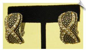 Clip On Earrings- Fashion- Classic