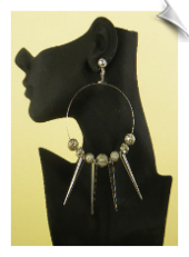Clip On Earrings - Artsy & Trendy