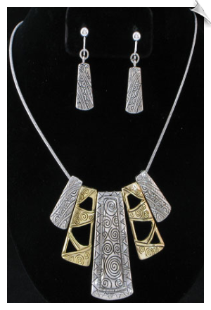 Necklace Set- Art Deco