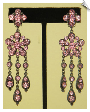 Clip On Earrings- Chandelier