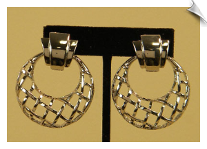 Clip On Earrings-Modern
