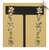 Clip On Earrings - Chandelier