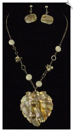 Necklace Sets - Pearl & White