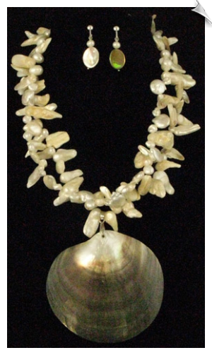 Necklace Set - Pearl