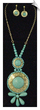 Necklace Set - Blue
