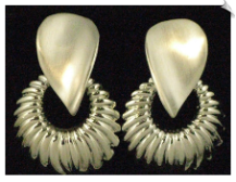 Clip On Earrings-Modern (SKU: SOL1444)