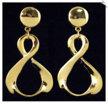 Clip On Earrings - Modern (SKU: SOL1981)