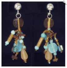 Clip Earrings - Artsy & Trendy (SKU: SOL6684)