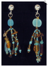 Clip Earrings - Artsy & Trendy (SKU: SOL6686)