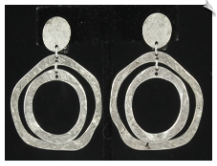 Clip On Earrings- Fashion (SKU: SOL6922)