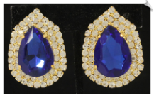 Clip Earrings - Glamour (SKU: SOL6257)