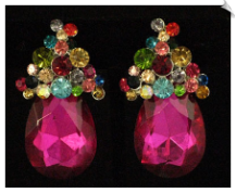Clip On Earrings - Fashion (SKU: SOL2715)