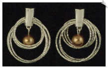 Clip On Earrings - Modern (SKU: SOL2781)