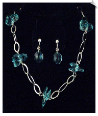 Necklace Sets-Blue (SKU: SOL3133)