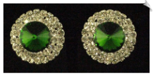Clip On Earrings- Rhinestone Glamour (SKU: SOL3175)