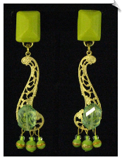 Clip On Earrings - Handmade (SKU: SOL3469)