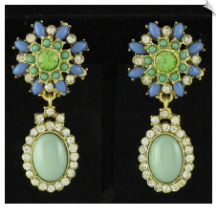 Clip On Earrings- Fashion (SKU: SOL4092)