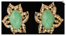 Clip On Earrings - Fashion (SKU: SOL4130)