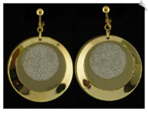 Clip On Earrings - Modern (SKU: SOL4166)