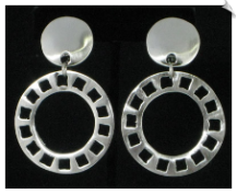 Clip On Earrings - Modern (SKU: SOL4264)
