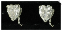 Clip On Earrings - Cubic Zirconia (SKU: SOL4277)