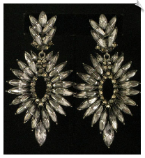 Clip On Earrings - Fashion (SKU: SOL4327)