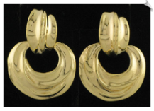 Clip On Earrings - Fashion Classic (SKU: SOL4434)