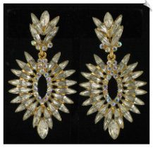 Clip On Earrings - Fashion (SKU: SOL4452)