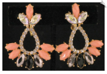 Clip On Earrings - Fashion (SKU: SOL4464)