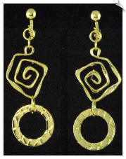 Clip On Earrings - Fashion (SKU: SOL4610)